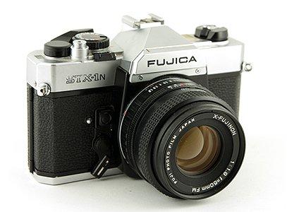 First SLR was a Fujica STX-1N